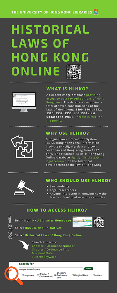 Historical Laws of Hong Kong Online